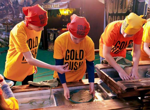 Gold Rush franchise opportunities