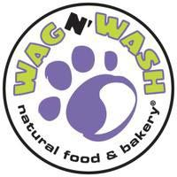Wag N' Wash Natural Food & Bakery logo