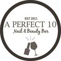 A Perfect 10 Nail & Beauty Bar logo