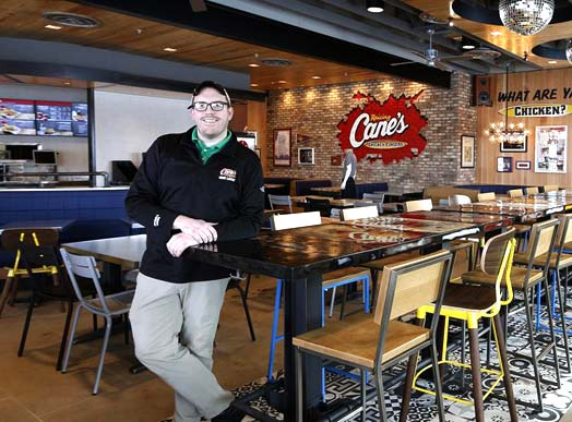 Raising Cane's Franchise Opportunities