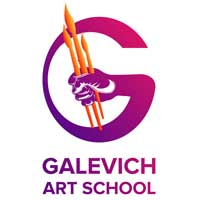 Galevich Art School logo
