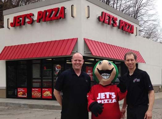 Jet's Pizza franchise for sale