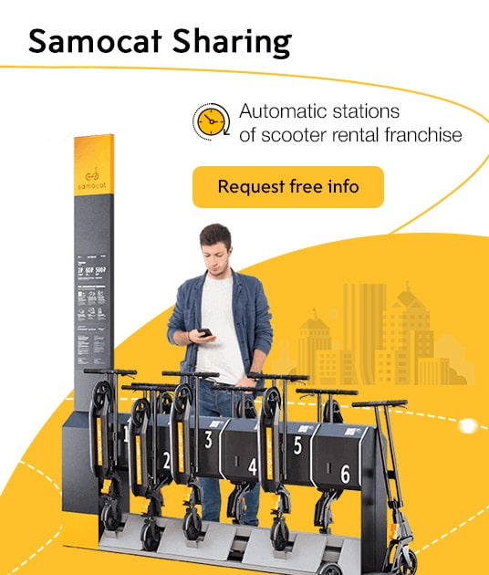 Samocat Sharing Franchise