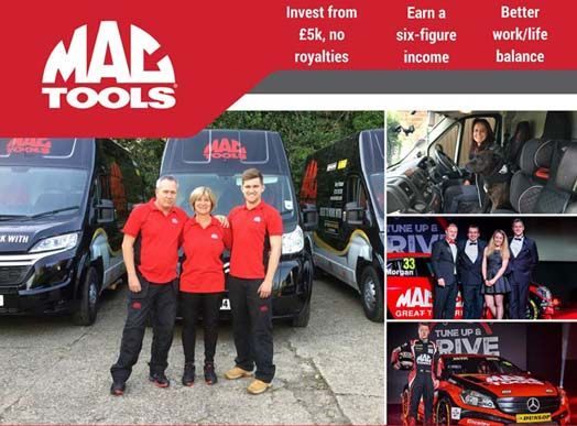 Mac Tools franchise for sale