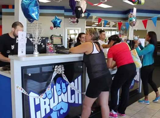 Crunch Fitness Franchise Opportunities