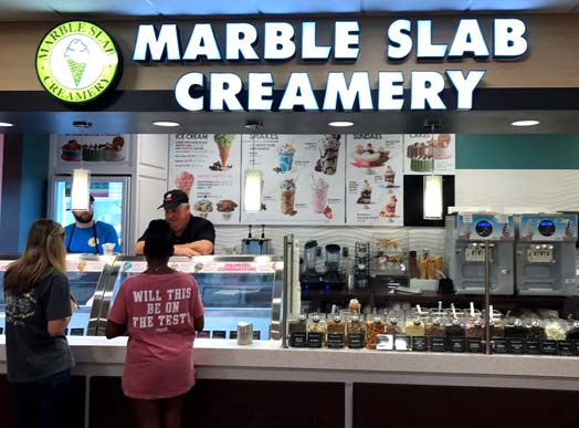 Marble Slab Creamery Franchise Opportunities