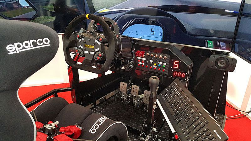 Attractive Franchise Opportunity. Motorsport Simulator