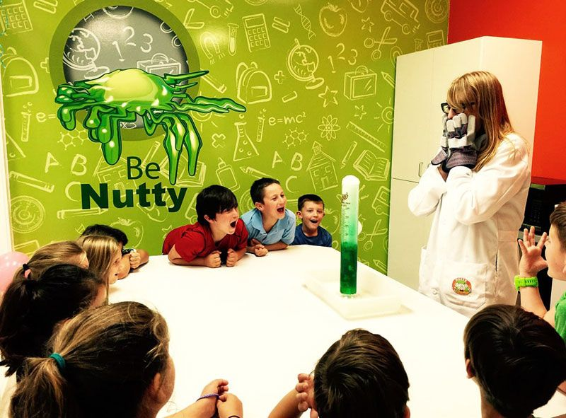 Nutty Scientists. Starting a Franchise Business