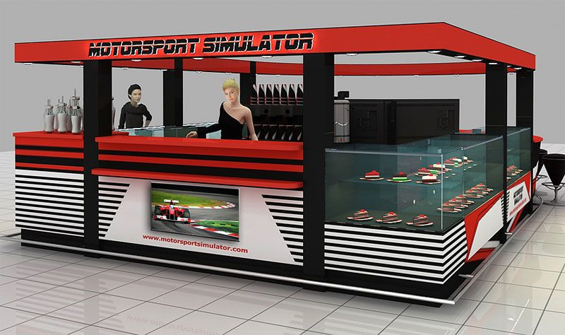 Motorsport Simulator. Simulator Franchises for Sale