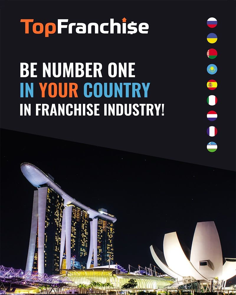 Be Number One in Franchise Industry of Your Country