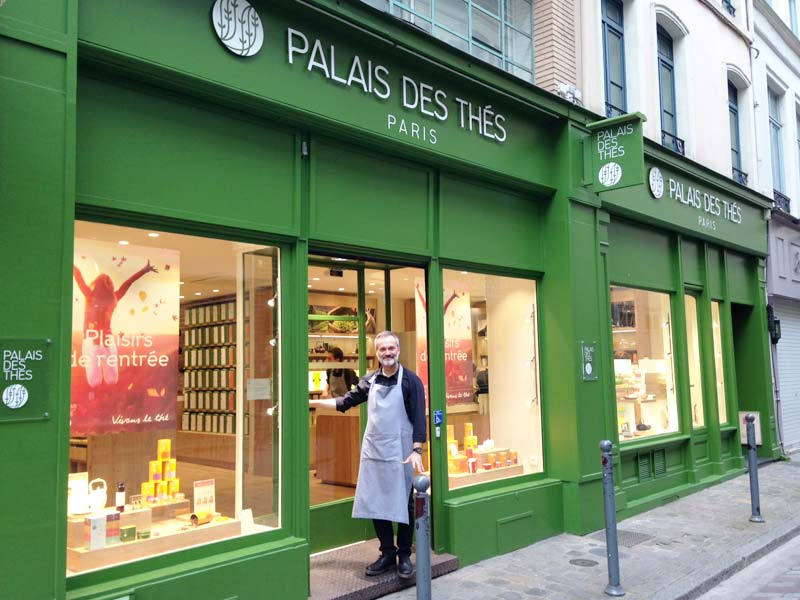 Palais des Thés franchise opportunities