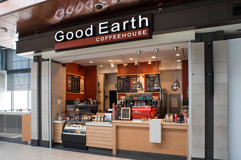 Good Earth Coffeehouse franchise