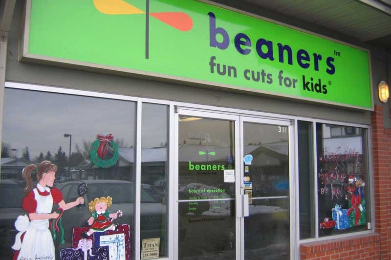Beaners Fun Cuts for Kids franchise