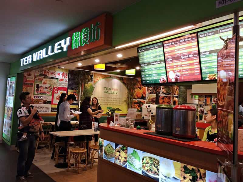 Franchise Tea Valley 茶食坊