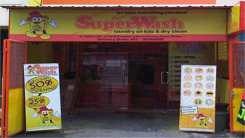 SuperWash Laundry & Dry Clean franchise
