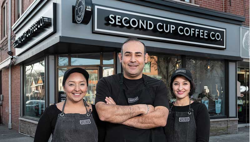 Second Cup Coffee Co. franchise