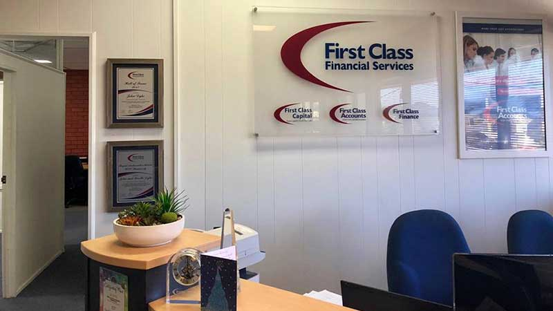 First Class Accounts franchise