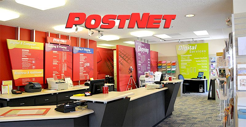 PostNet Printing, Marketing and Shipping Franchise