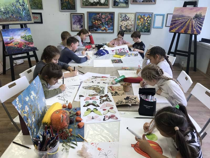 fastest growing franchise - Galevich Art School Franchise