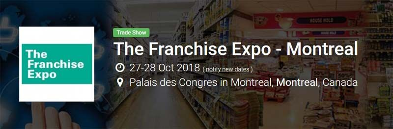 2018 Franchise Expo in Montreal