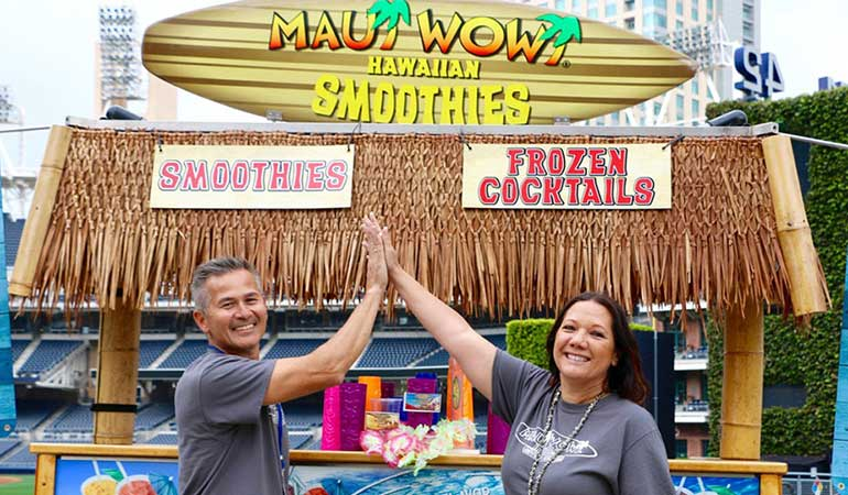 Maui Wowi Hawaiian Coffees and Smoothies franchise