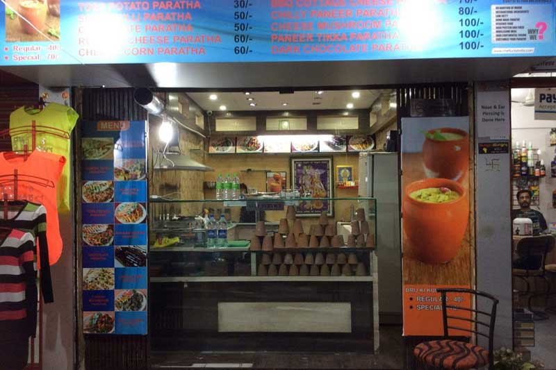 Paratha on Wheels Cafe franchise