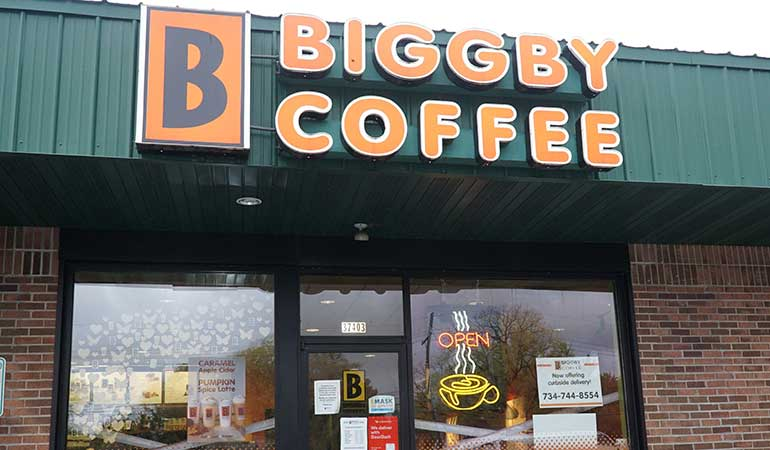 Biggby Coffee franchise