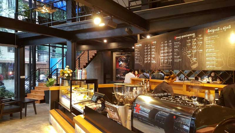best coffee franchises in Thailand