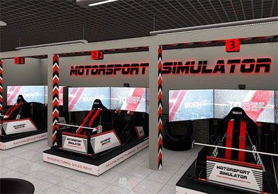 Start your own business franchise opportunity - Motorsport Simulator