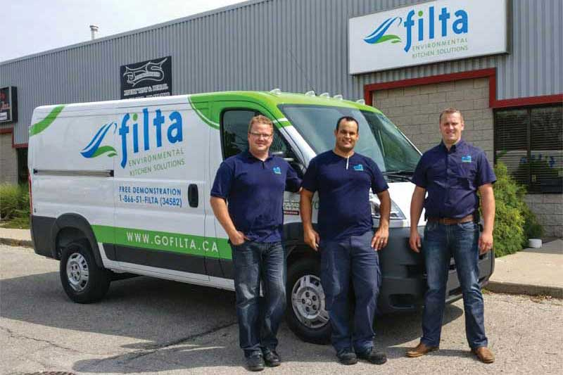 Filta Environmental Kitchen Solutions franchise