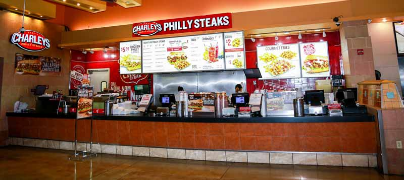 Charleys Philly Steaks Franchise