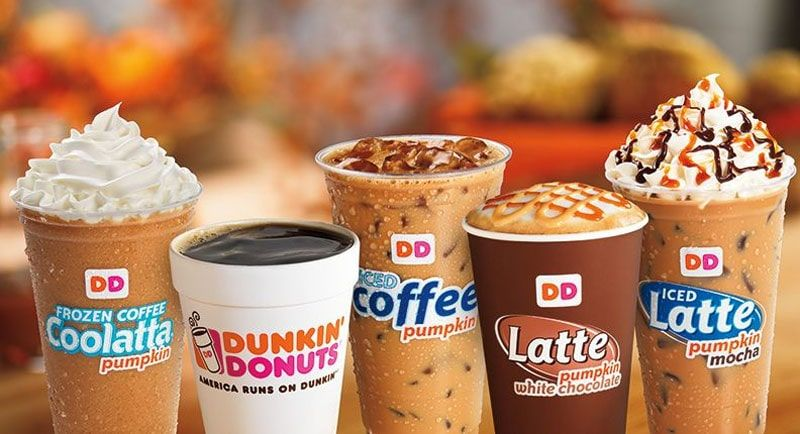 Dunkin' Donuts - coffee and baked goods chain franchise