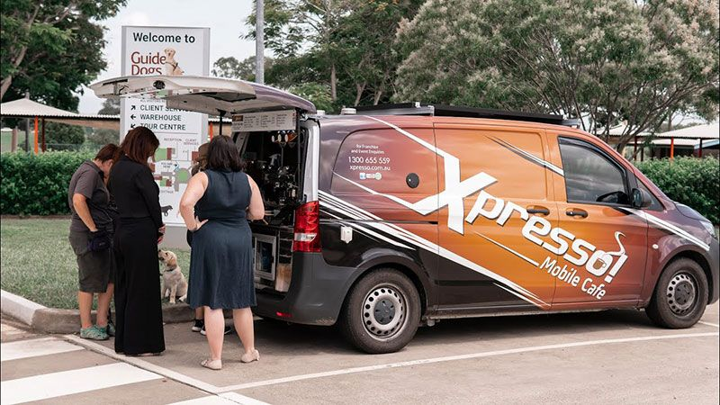 Xpresso Mobile Cafe franchise