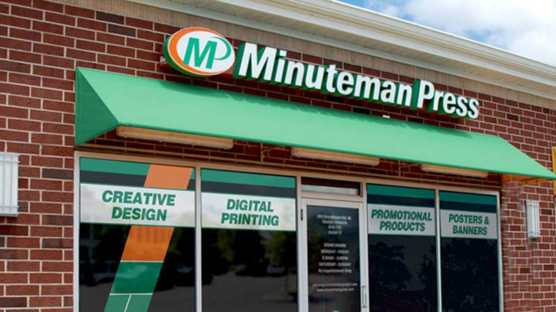 Minuteman Press International franchise