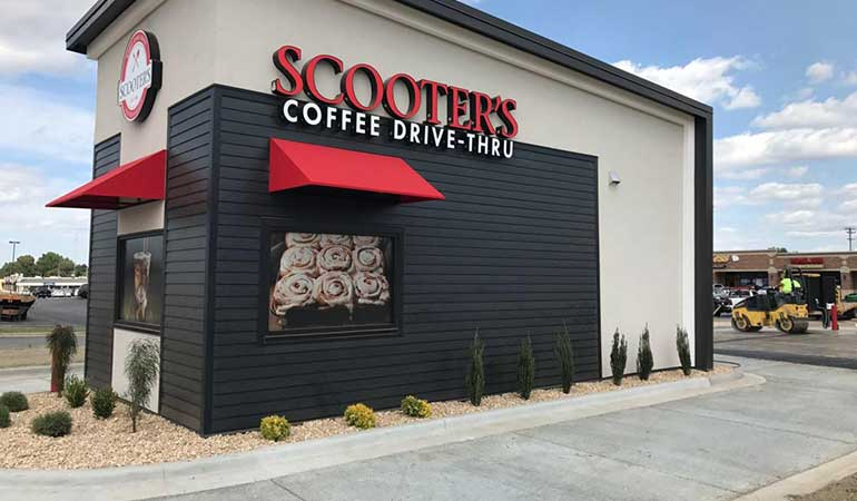 Scooter's Coffee franchise
