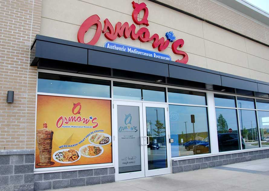 Osmow's Franchise for Sale - Cost & Fees   All Details