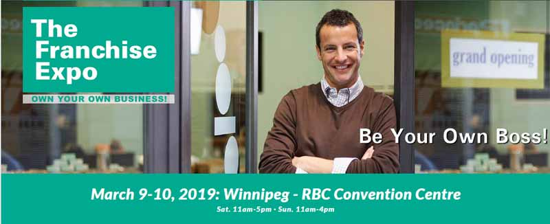 Winnipeg Franchise Expo in March