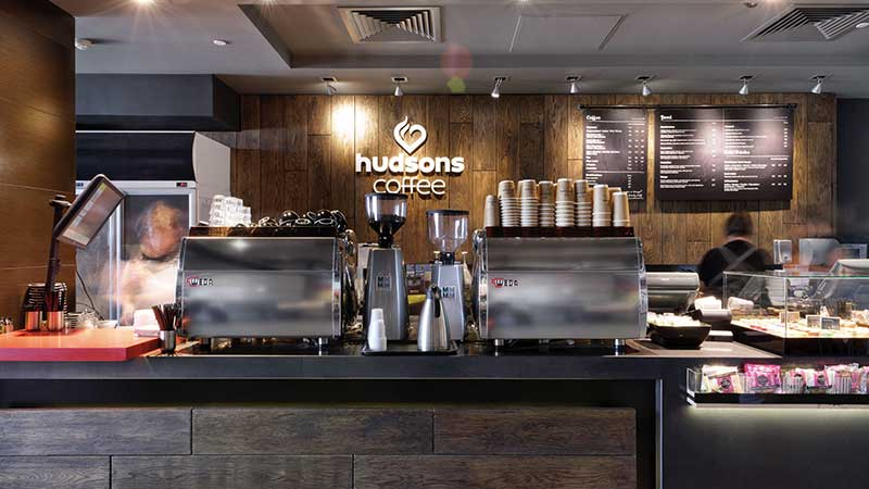 Hudsons Coffee franchise