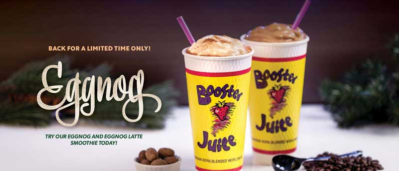 Booster Juice Franchise