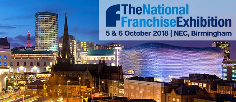 2018 National Franchise Exhibition in Birmingham