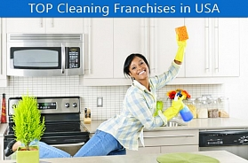 TOP 10 Cleaning Franchise Business Opportunities in USA for 2019