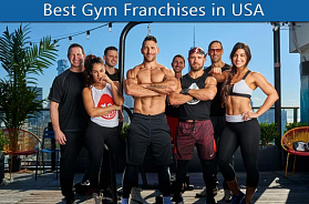 Best 10 Gym Franchises in USA for 2020