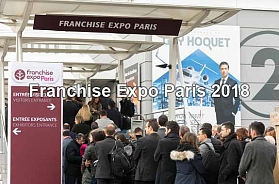 Paris Franchise Expo held in March