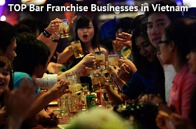 TOP 9 Bar Franchise Businesses in Vietnam for 2020