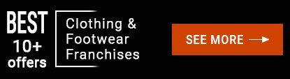 Clothing & Footwear Franchises